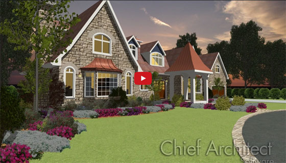 Home Designer 2015 - Advanced Roof Design