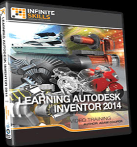 Learning Autodesk Inventor 2014 Training Video