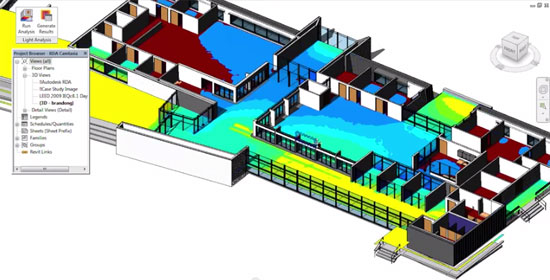 Lighting Analysis for Autodesk Revit