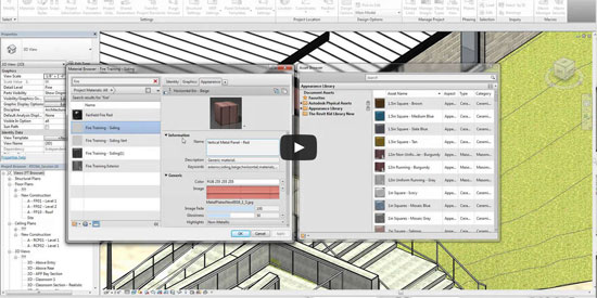 How to generate custom material library through Revit