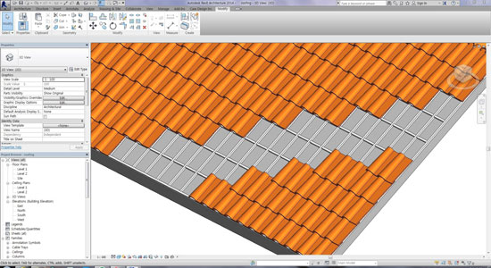 Revit Tips - Spanish Roof Tile