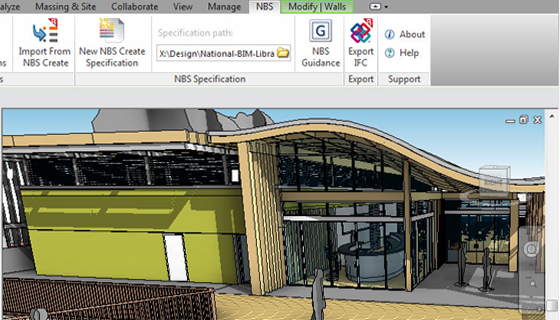 NBS Plug-in for Autodesk Revit