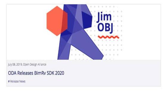 ODA Releases BimRv SDK 2020 | OpenDesignAlliance