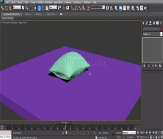 Creating a Pillow in Autodesk 3Ds Max