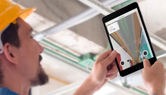 Access the 3D models on your IOS devices with  Procore BIM