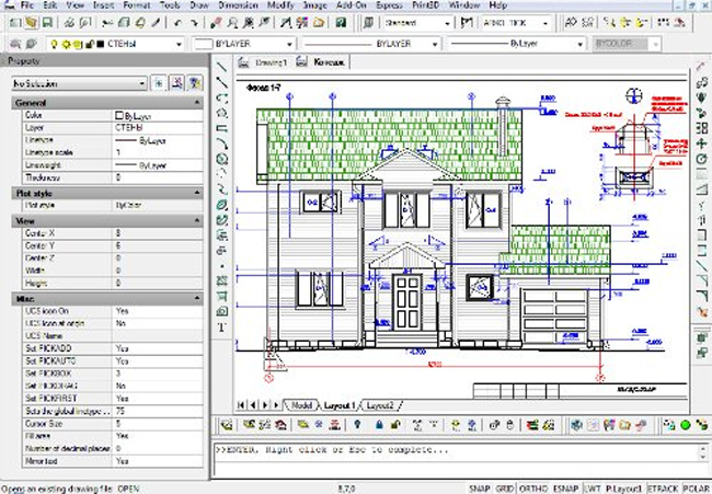 progeCAD is a good substitute to expensive AutoCAD