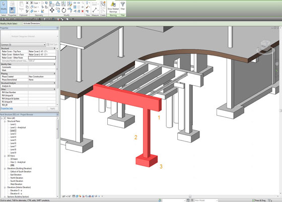 Reinforced Concrete in Autodesk Revit