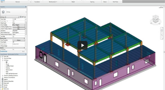 Reinforcement for parts with Revit 2015
