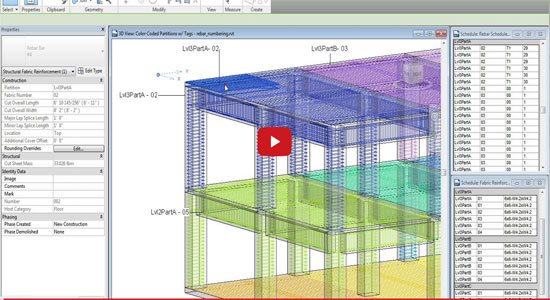 Reinforcement Numbering with Autodesk Revit 2015