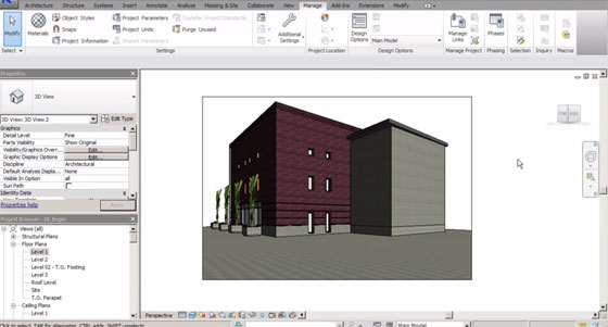 Renovation Projects in Revit 2015