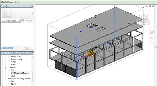 Revit Structure Tutorial: Modeling Concrete Columns, Beams, and Floor Slabs