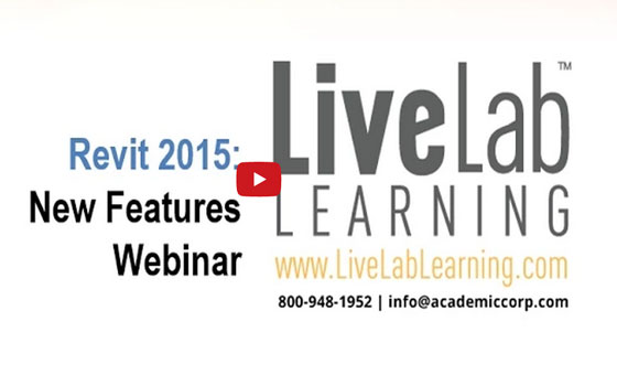 Revit 2015 New Features Webinar