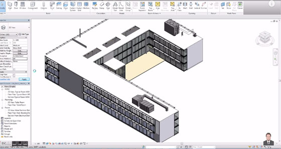 Revit 2016 contains some significant 3d rendering features