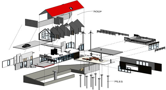 Revit Architecture 2014 - Creating an Exploded View
