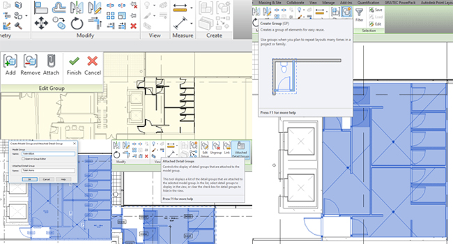 Some useful Revit tips on Revit Groups by Justin Taylor
