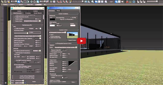 Revit link to 3ds max design