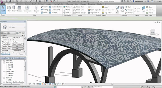 Mass Modeling Tools in Autodesk Revit