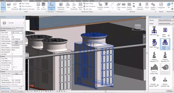How to apply Revit Mep 2016 for detailing pipe for fabrication