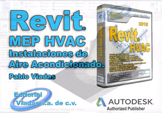 Revit MEP 2015 video tutorial that focuses on HVAC air conditioning systems