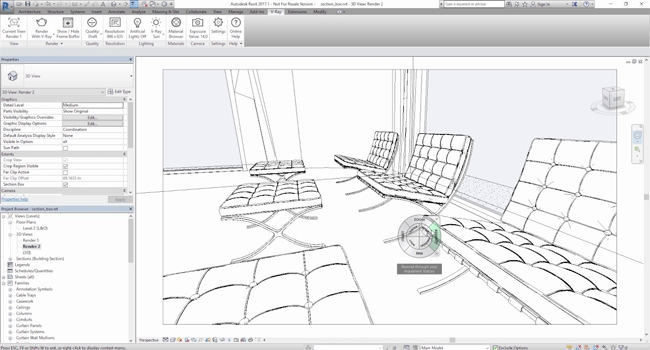 QuickStart Video on Revit Section Box