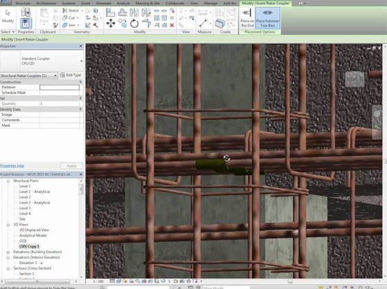 Revit 2017 New Structural Features