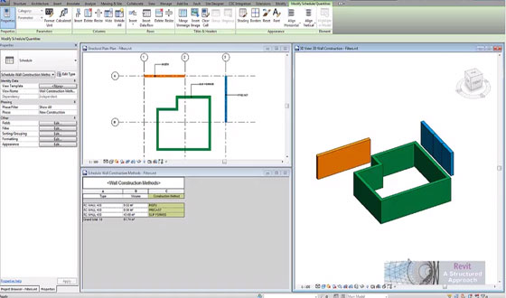 Revit Structure 2015 Tutorial Filters and View Templates