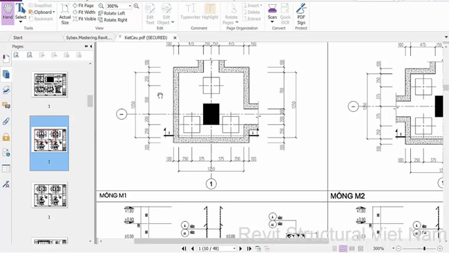 How to efficiently arrange foundation plane in Revit 2017