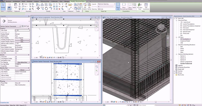 revit structure for 3d visualization