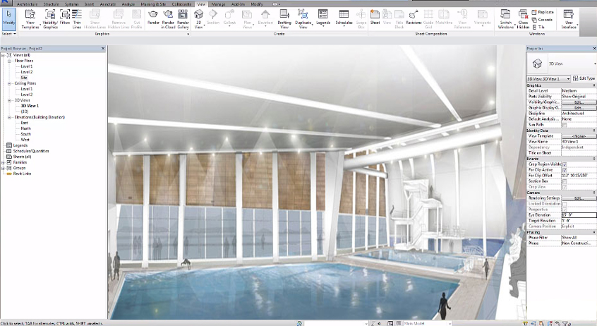 Revit Swimming Pool Tutorial