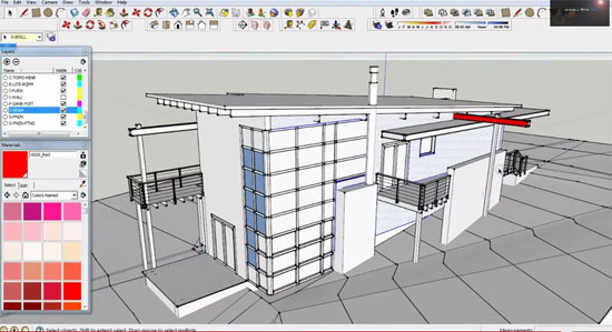 Revit to Sketchup via 3D AutoCAD File