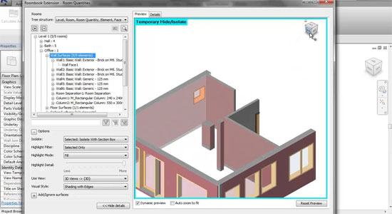 Roombook Extension for Autodesk Revit 2014