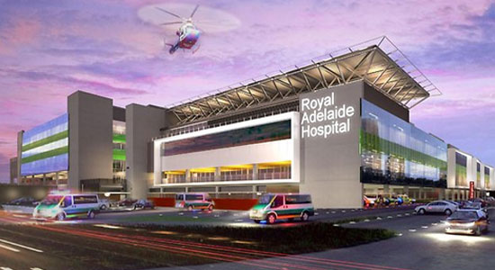 How BIM was applied in the $1.85 billion new Royal Adelaide Hospital project
