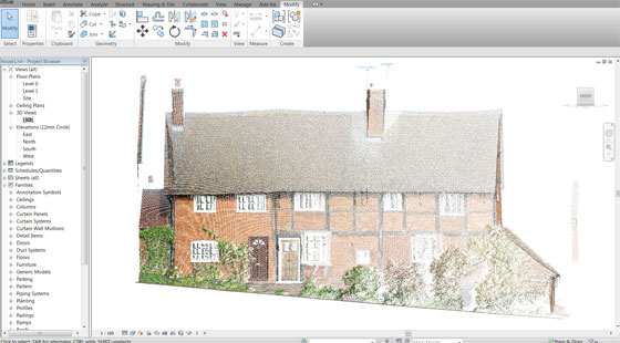 Put Point Clouds to Work in Revit with Scan to BIM