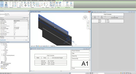 Schedule Wall Heights in Revit 2015
