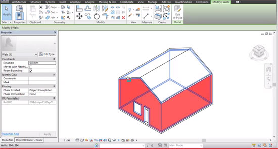 Export a BIM model from Sketchup and Import to Revit