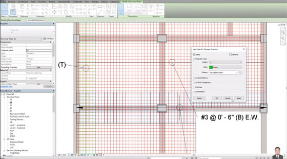 How to use Revit Structure 2016 for slab detailing & arranging viewport