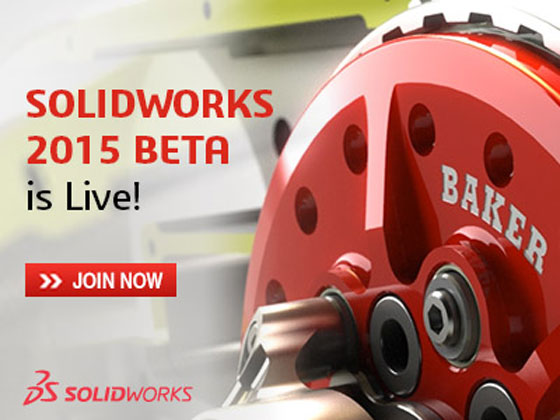 Solidworks 2015 beta, the most updated version of Solidworks