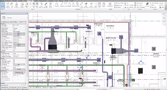 How to use spacing naming tool in Revit Mep