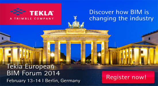 Join Tekla European BIM Forum 2014 in Germany