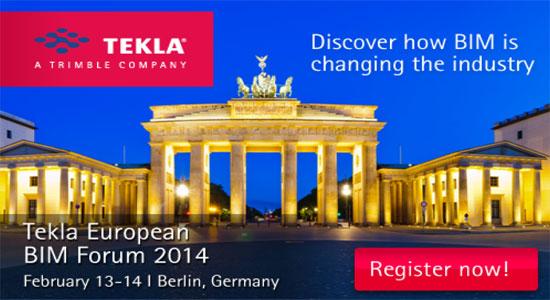 Join Tekla European BIM Forum 2014 in Germany