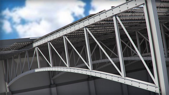 Digital Tutors offers an exclusive training course on Revit 2015 to deal with trusses