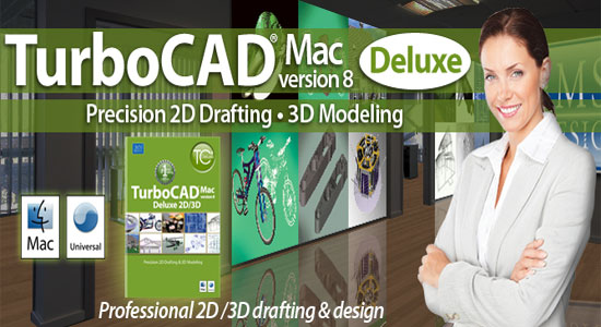 The complete series of TurboCAD v8 is available for Mac users