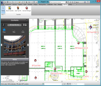 TurboSite Plug-In for Revit