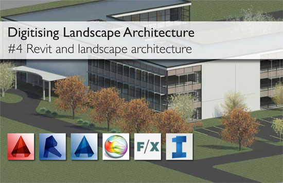 The usefulness of revit for landscape architect