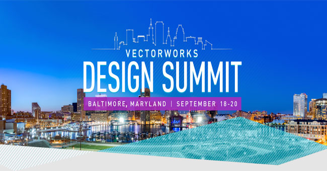 Vectorworks Inc is going to organize the third annual Vectorworks Design Summit for the AEC, landscape and entertainment industries
