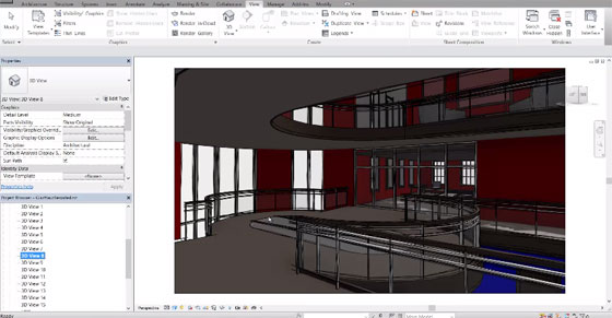 Brief Overview of Visual Styles in Revit 2015