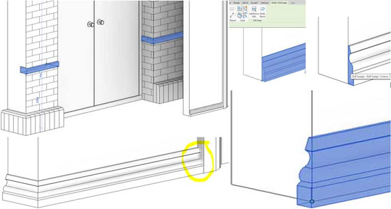 Wrapping Revit Wall Sweeps